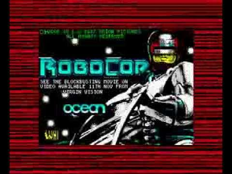 Robocop (ZX Spectrum) - Full tape loading - Complete game