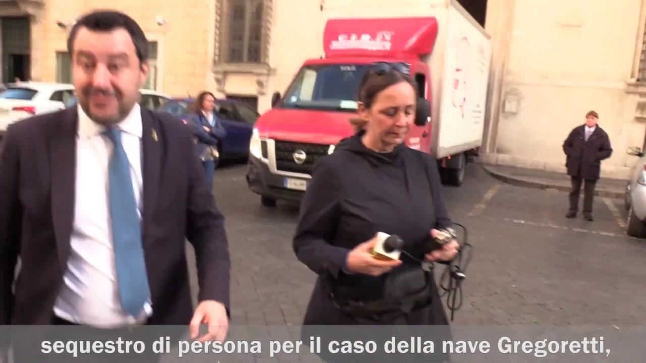 Salvini a processo per il caso Gregoretti
