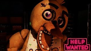 Five Nights At Freddy's VR Help Wanted Gameplay Trailer REACTION/BREAKDOWN