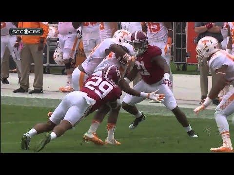#1 Alabama VS Tennessee Football Highlights 2017