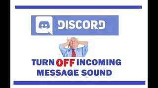 How to TURN OFF Sound  in Discord!