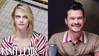 Cara Delevingne And Orlando Bloom Take A Lie Detector Test    Vanity Fair