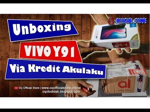 🔴 Unboxing Hp VIVO Y91 2019 Via Kredit Akulaku Indonesia