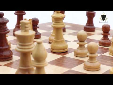 10 Inches Wooden Magnetic Chess Set
