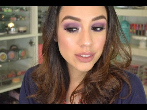 Too Faced Peanut Butter + Jelly Palette | Tutorial // Purple Smoky Eye