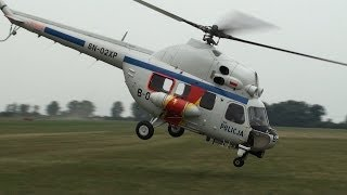 Crazy Pilot Shows How To Fly The Mi-2 Police Helicopter HD