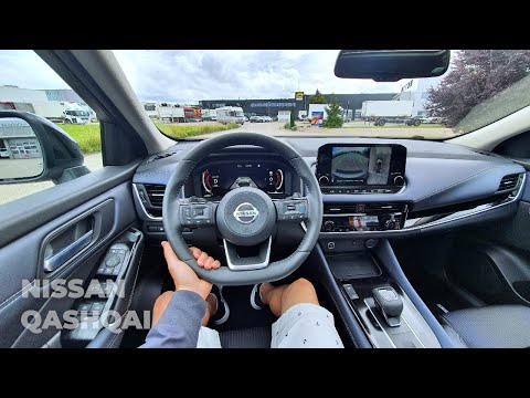 New Nissan Qashqai 2022 Test Drive POV