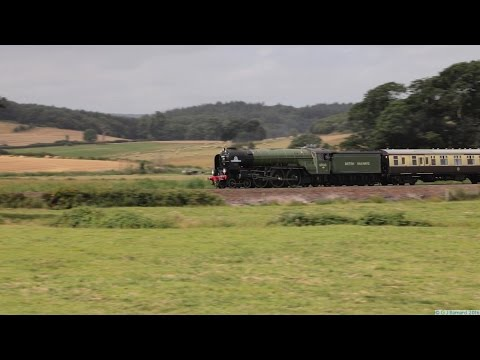 LNER A1 60163 'Tornado' at Powderham on the Torbay Express 7…