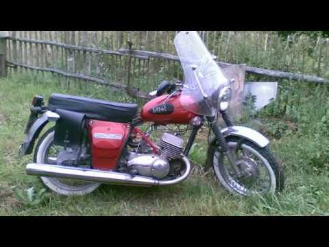 разборка двигателя ИЖ юпитер 5 мотоцикл