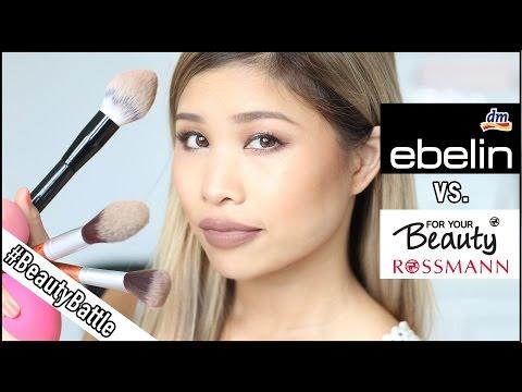 DM vs ROSSMANN - EBELIN PINSEL VS ROSSMANN l BeautyBattle #5 l Kisu