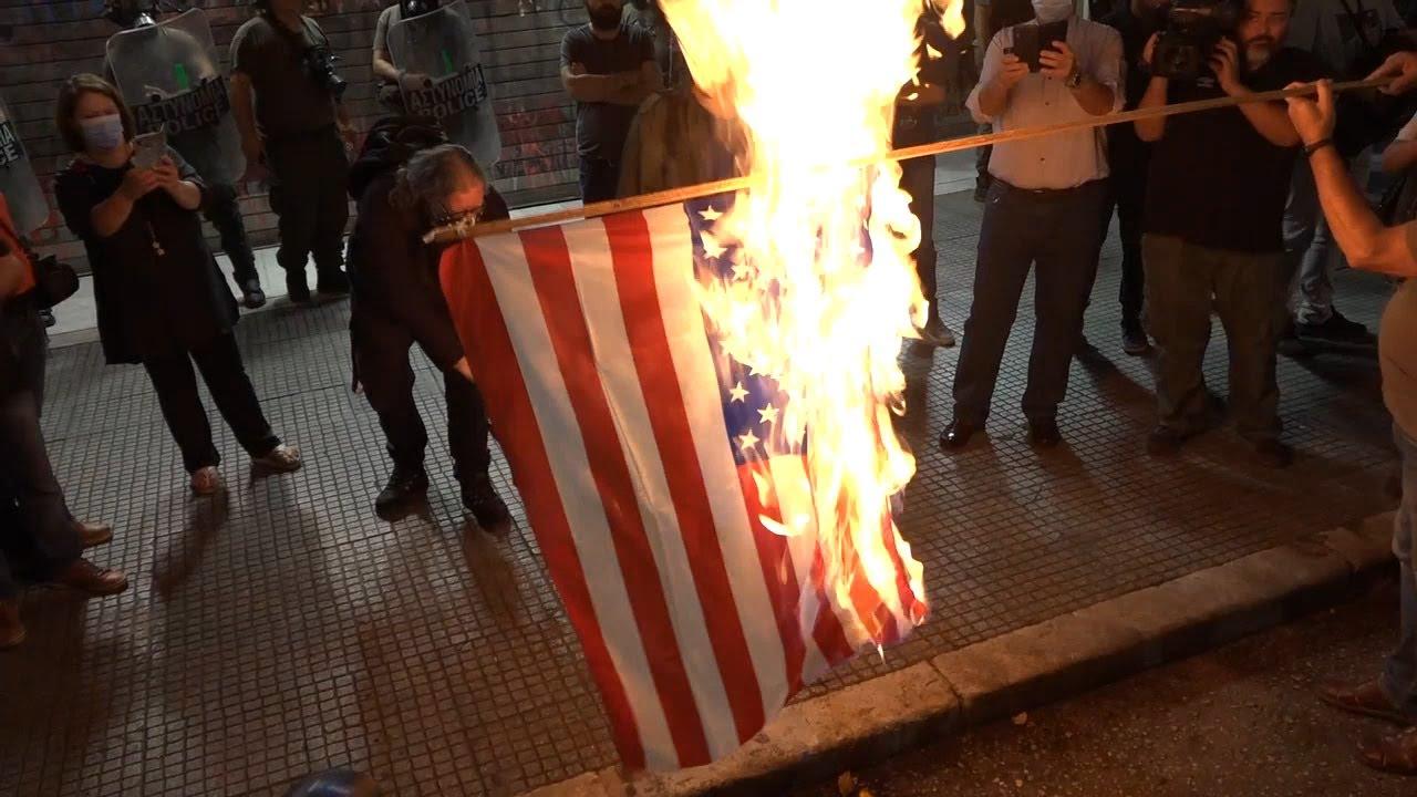 Συγκέντρωση και πορεία ενάντια στην επίσκεψη Μ. Πομπέο στη Θεσσαλονίκη