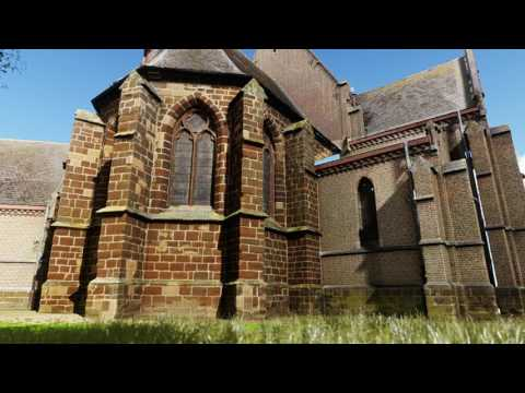 3D animation of church in Germany