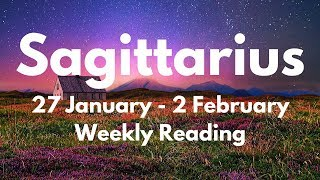 SAGITTARIUS YOUR BIGGEST BREAK-THROUGH! VICTORY IS COMING! JANUARY 27th - 2nd FEBRUARY