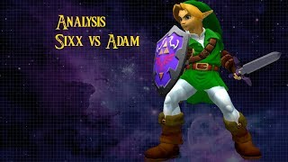 SSBM Link tutorial | Analysis Sixx vs Adam ft.Sixx