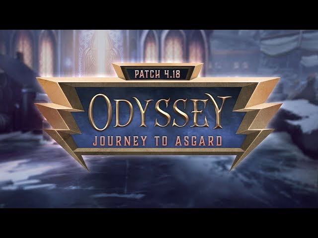 SMITE Patch Notes VOD - Journey to Asgard (Patch 4.18)