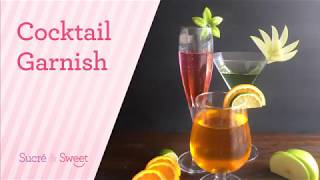 How To Make Simple Cocktails Garnishes