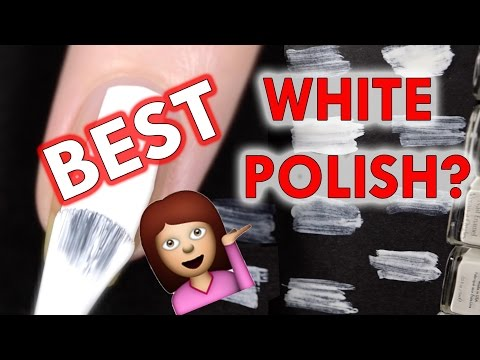 White nail polishes – what's the best?!