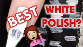 White nail polishes - what's the best?!
