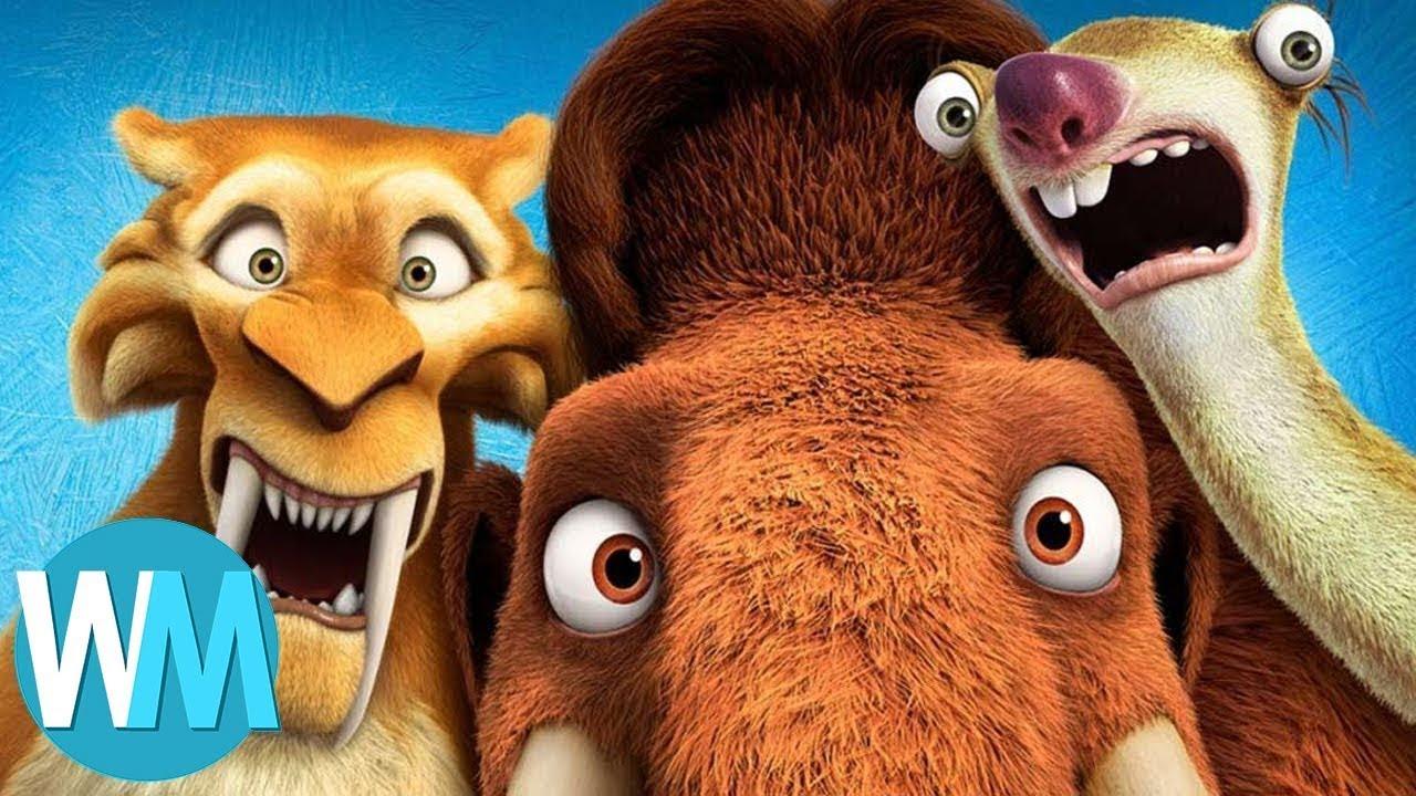 TOP 10 des pires SUITES de films d'ANIMATION !