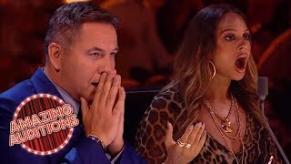 GOLDEN BUZZERS - Britain's Got Talent: The Champions | Amazing Auditions