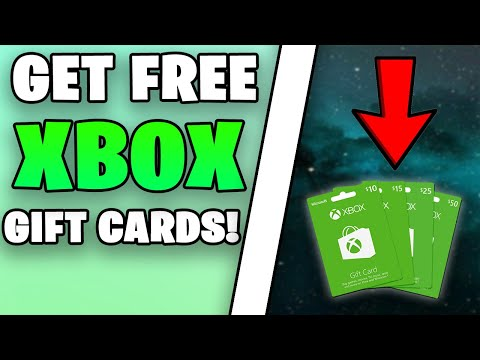 How I Get FREE Gift Cards FROM Xbox! (Xbox Approved Methods!)