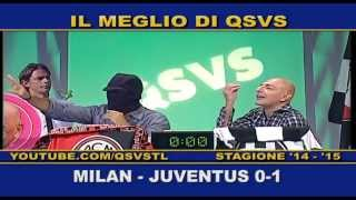 preview picture of video 'QSVS - I GOL DI MILAN - JUVENTUS 0-1 - TELELOMBARDIA'