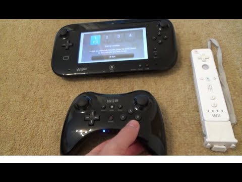 How to Sync a Wii U Pro Controller & Remote to a Wii U Console