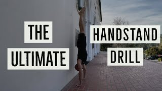 The Best Handstand Drill To Get OFF The Wall! (Heel Pulls with Antranik)