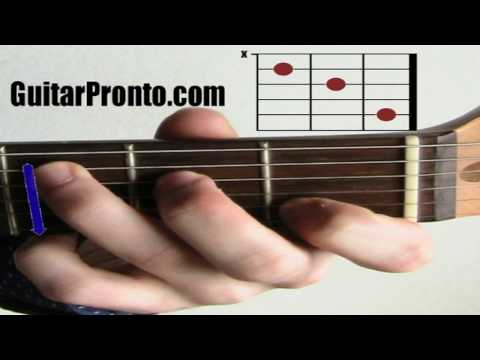 Must know guitar chords - C major chord