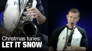 Let it Snow - Christmas songs on saxophone by Nigel McGill