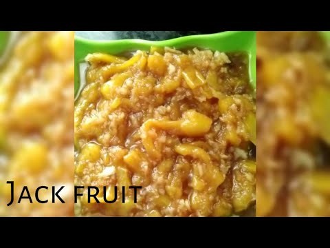 HOW TO MAKE JACK FRUIT JAGGERY RECIPE || EASY COOKING || 3 MINUTES COOKING