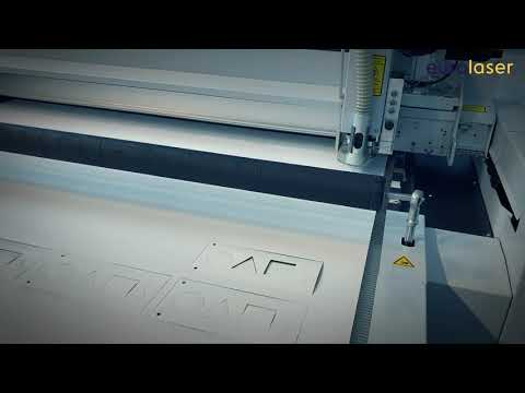 Laser cutting of PVC-free foil - MasterJet by IGEPA