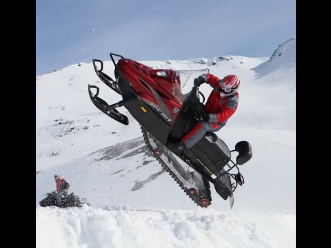 Utility Snowmobile Mountain, Russia