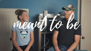 Meant To Be Bebe Rexha Florida Georgia Line (Cover) Derek Cate And Daughter Hailey
