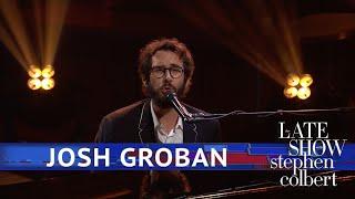 Josh Groban Performs 'She's Always A Woman'