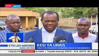 IEBC, Wafula Chebukati na rais Uhuru Kenyatta wawasilisha stakabadhi yakujibu rufa