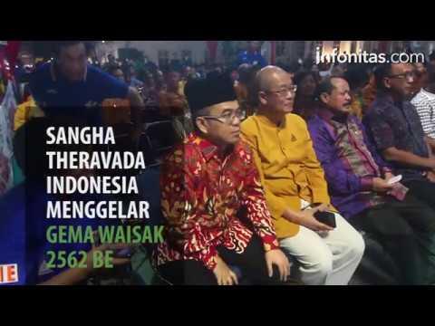 Sangha Theravada Indonesia Gelar Gema Waisak 2562 BE di Kota Tua