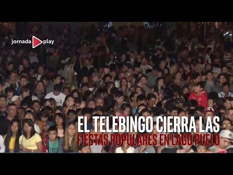 El Telebingo cierra las  Fiestas Populares en Lago Puelo