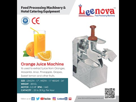 Leenova Orange Juice Machine