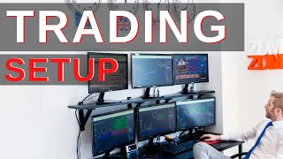 My trading SETUP for daytrading (My professional trading desk)