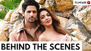 Making of Sidharth Malhotra and Kiara Advani's Cover Shoot   Behind the Scenes  Shershaah   Filmfare