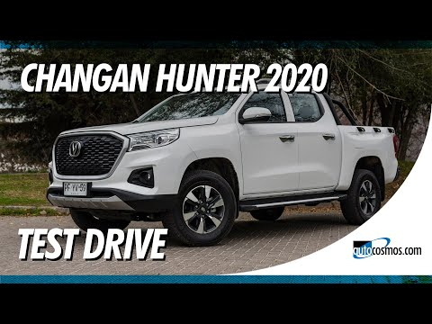 Test drive Changan Hunter 2020