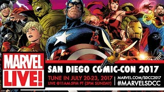 Marvel Studios Hall H SDCC Red Carpet 2017