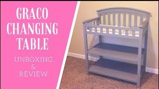 Graco Changing Table Assembly And Review