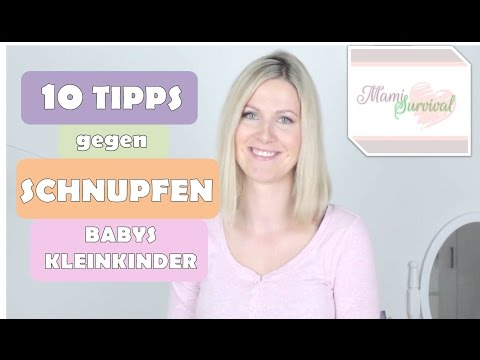 Baby: Schnupfen und Erkältung | Hausmittel | Tipps | Natürlich |  Kleinkind |  Einfach  |  Schnell