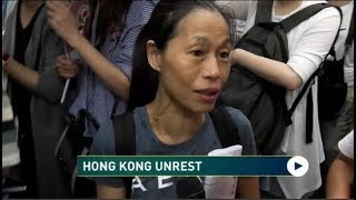 Amid Unrest Hong Kong Residents Hoping For Peace to Return