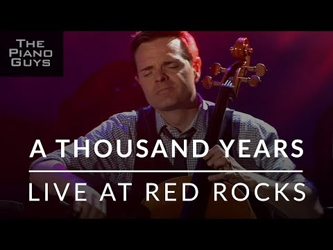 The Piano Guys Perform 'A Thousand Years'