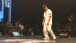 oSaam vs YASS DANCE@LIVE 2013 JAPAN FINAL HIPHOP【QUARTERFINAL】