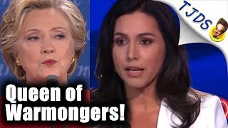 Tulsi Drops Hammer On Red-Baiting Hillary
