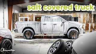 Road Salt Covered Truck Gets Deep Cleaned! - Auto Detailing ASMR